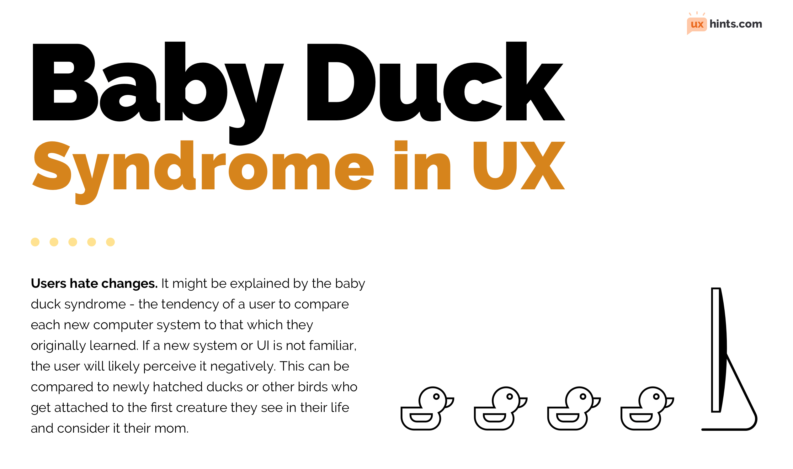 Baby Duck Syndrome